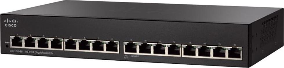 Cisco Small Business Switch 16-port 10/100/1000 SG110-16
