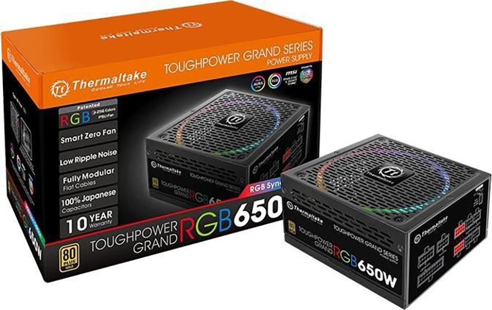 PC- Netzteil Thermaltake Toughpower Grand RGB 650W - Sync Edition