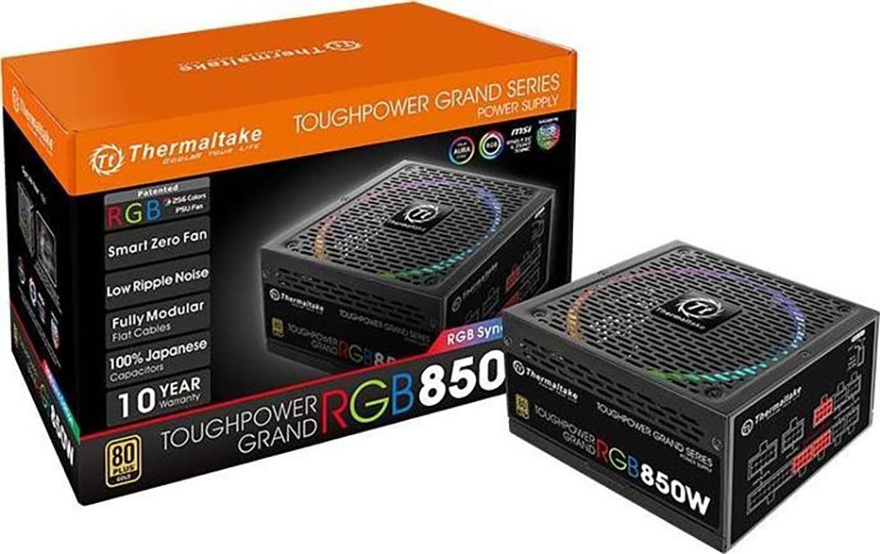 PC- Netzteil Thermaltake Toughpower Grand RGB 850W - Sync Edition