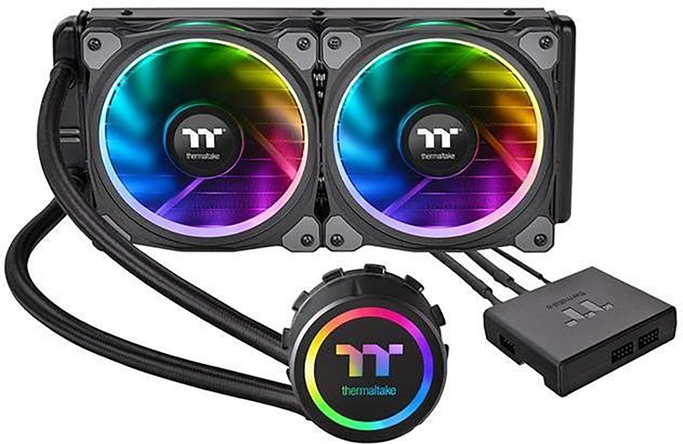 Cooler Thermaltake Floe Riing RGB 240 TT Premium Edition - Wasserkühlung