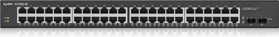 ZyXEL Switch 48-port10/100/1000 GS1900-48