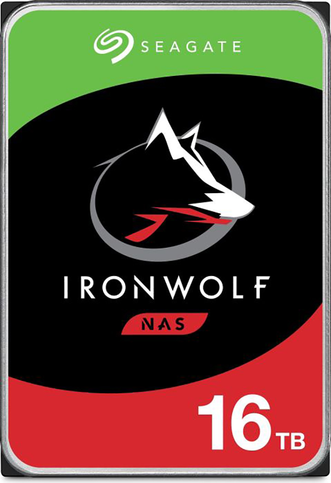 HDD Seagate IronWolf NAS ST16000VN001 16TB Sata III 256MB (D)