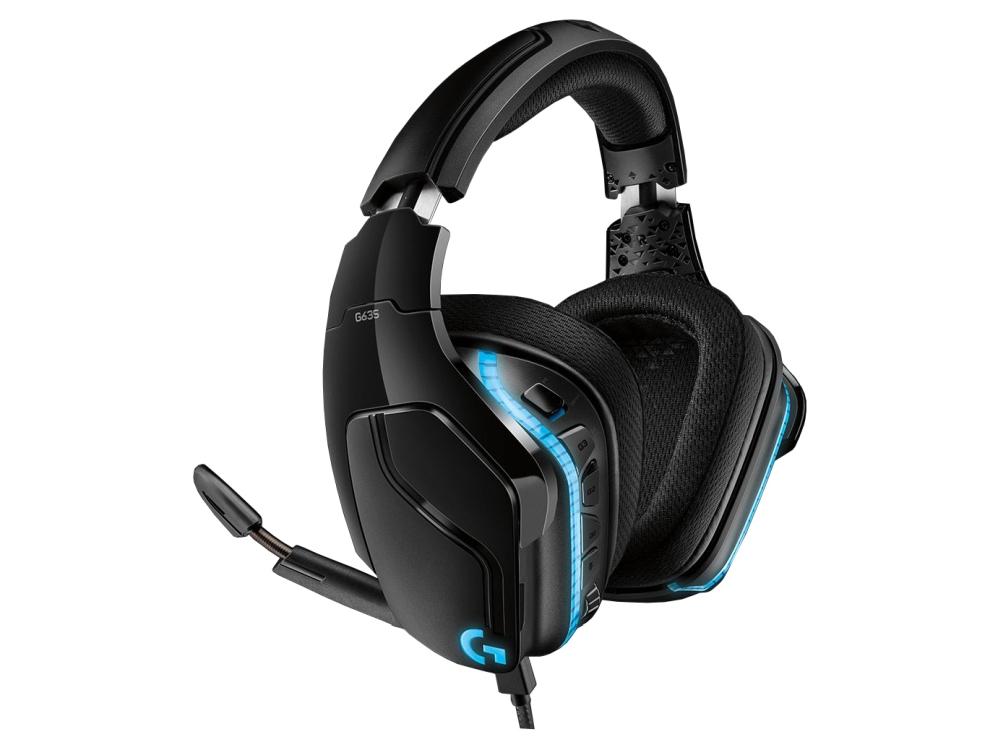 Headset Logitech Gaming G635 (981-000750)