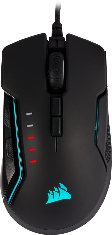 Mouse Corsair Gaming GLAIVE RGB PRO - Aluminium