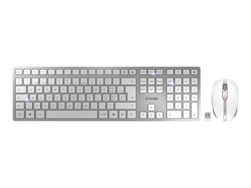 Keyboard & Mouse Cherry DW9000 silber (JD-9000DE-1)