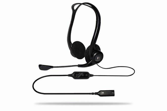 Headset Logitech H960 USB (981-000100)