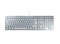 Keyboard Cherry KC 6000 slim silber (JK-1600DE-1)